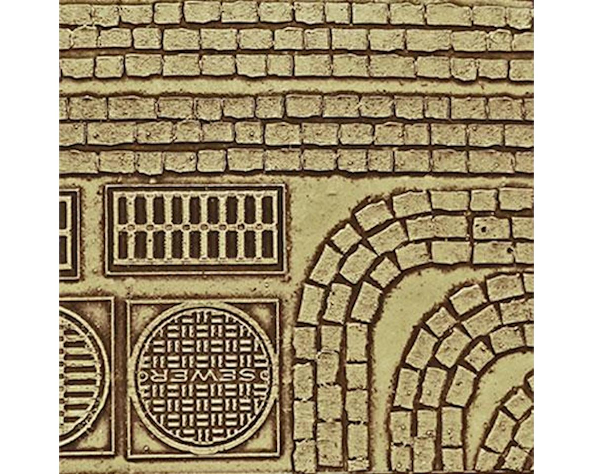 Chooch HO Cobblestone Street Details, Medium