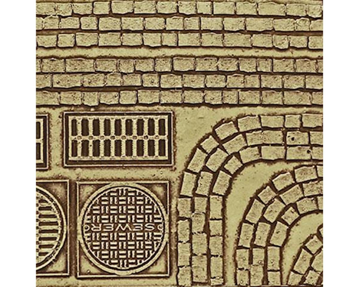 Chooch HO Cobblestone Street Details, Medium