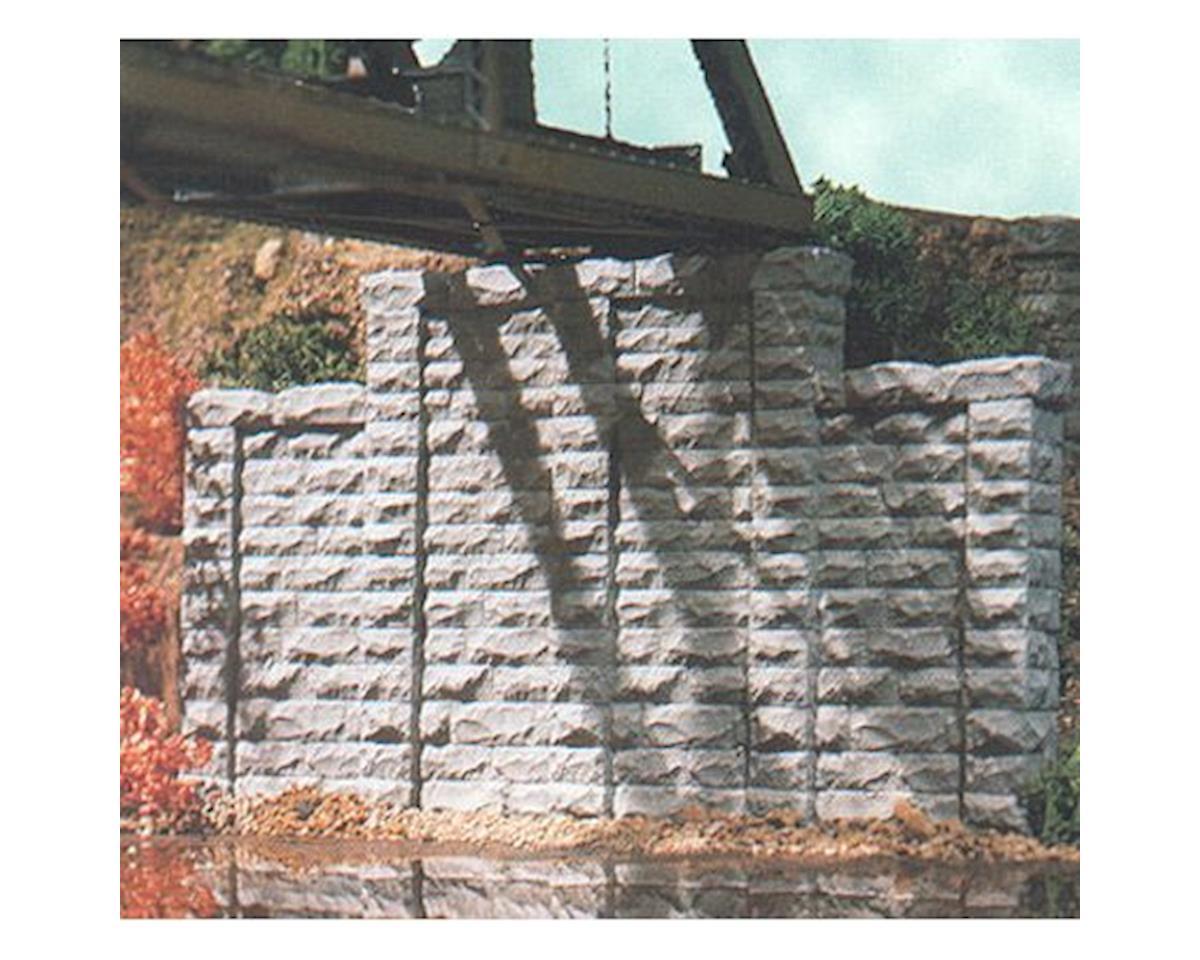 N Cut Stone Stepped Retaining Wall (2) by Chooch