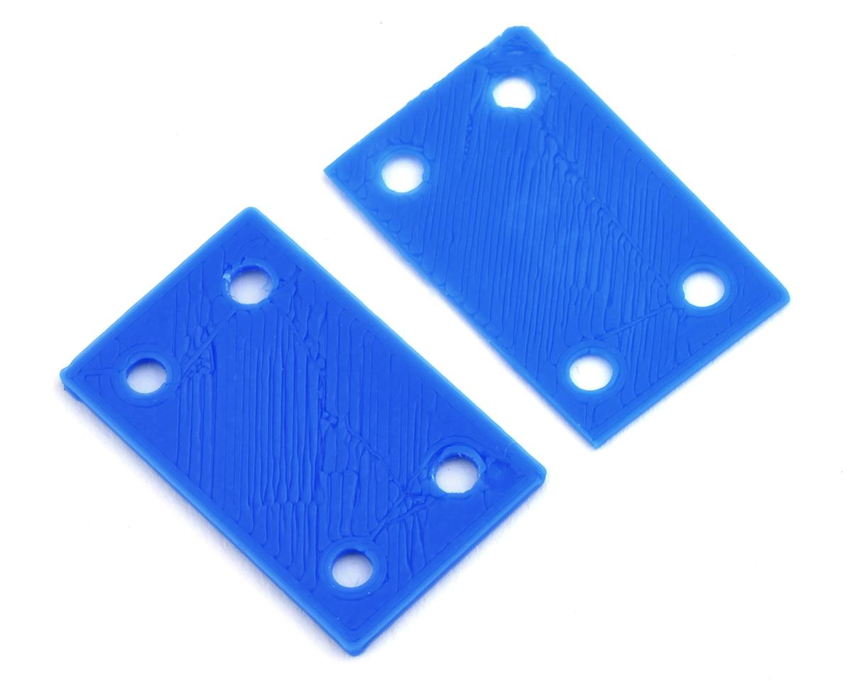 B6/B6D 3D Printed Bulkhead Shim Set (Black) by Cheater Racing