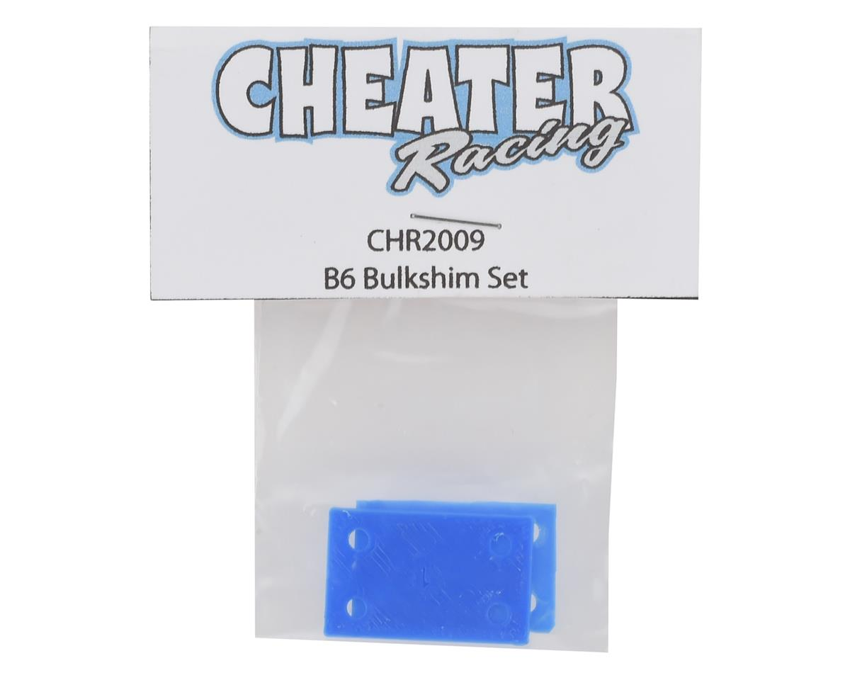 Cheater Racing B6/B6D 3D Printed Bulkhead Shim Set (Black)