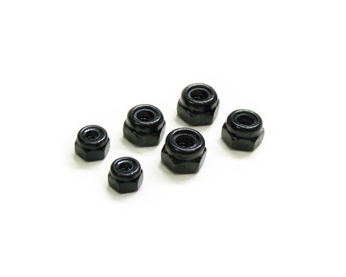 Carisma M40S 3mm/4mm Locknut Set
