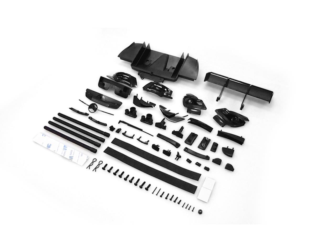 Carisma M40S Mercedes AMG DTM Body Plastic Parts/ Rear Bumper Set