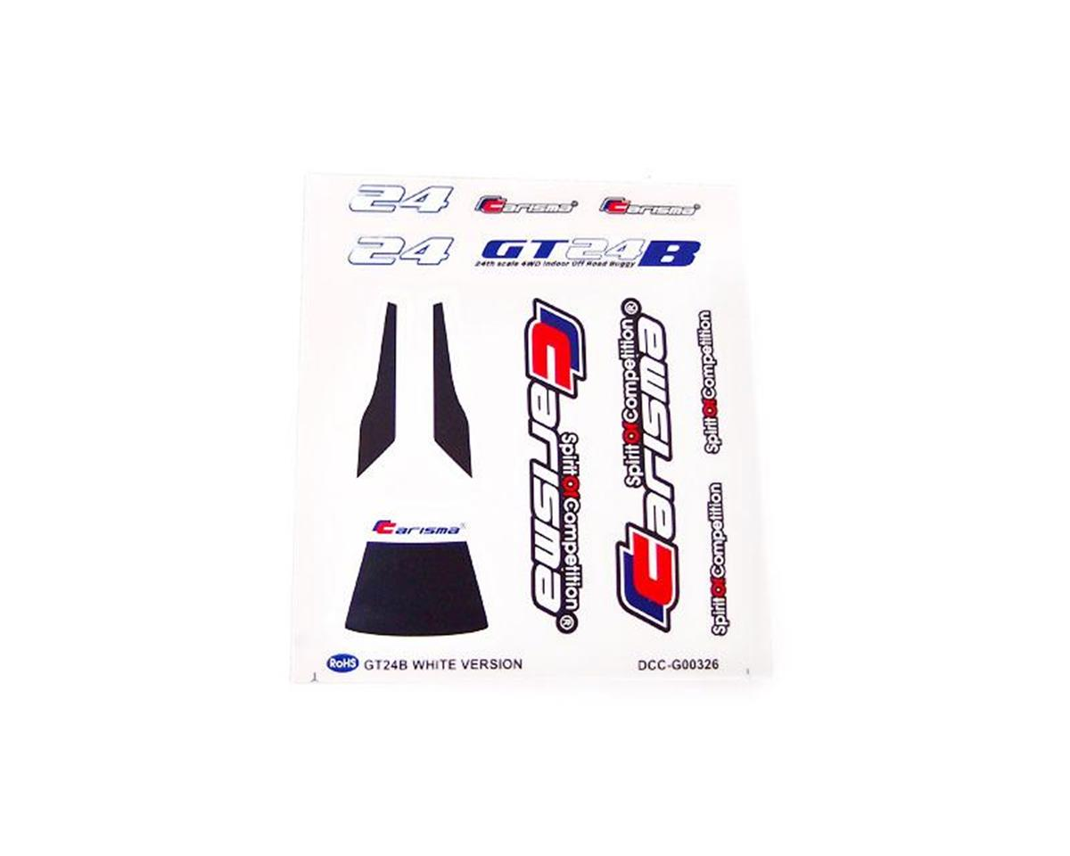 Carisma GT24B Buggy Sticker Sheet