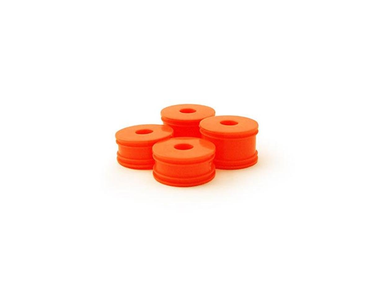 Carisma GT24B Wheel Set (4): Orange