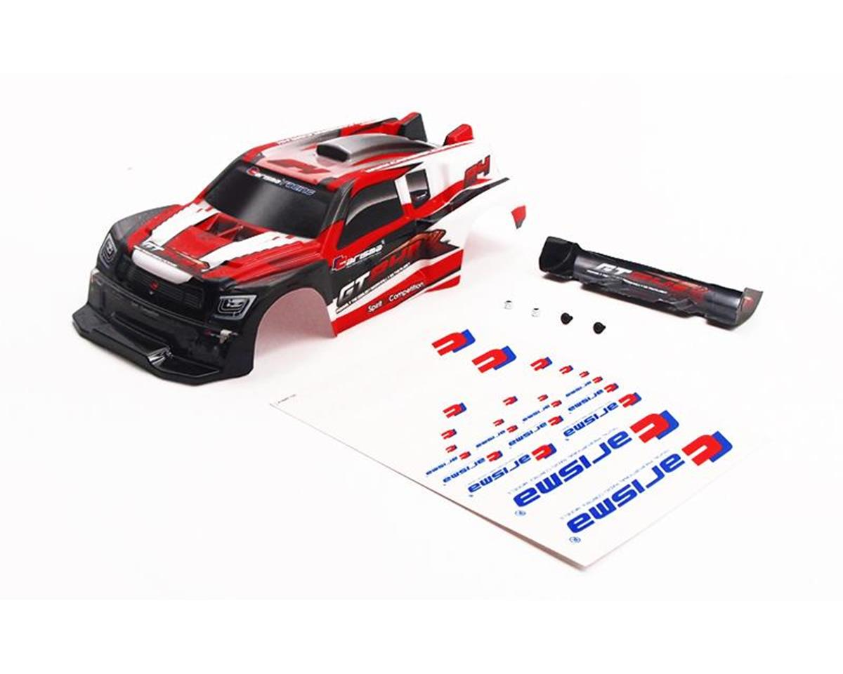 Carisma GT24R Painted and Decorates Rally Body (Red)