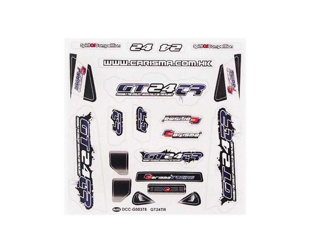 GT24TR Truggy Sticker Sheet by Carisma