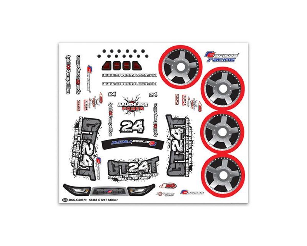 Carisma GT24MT Sticker Sheet