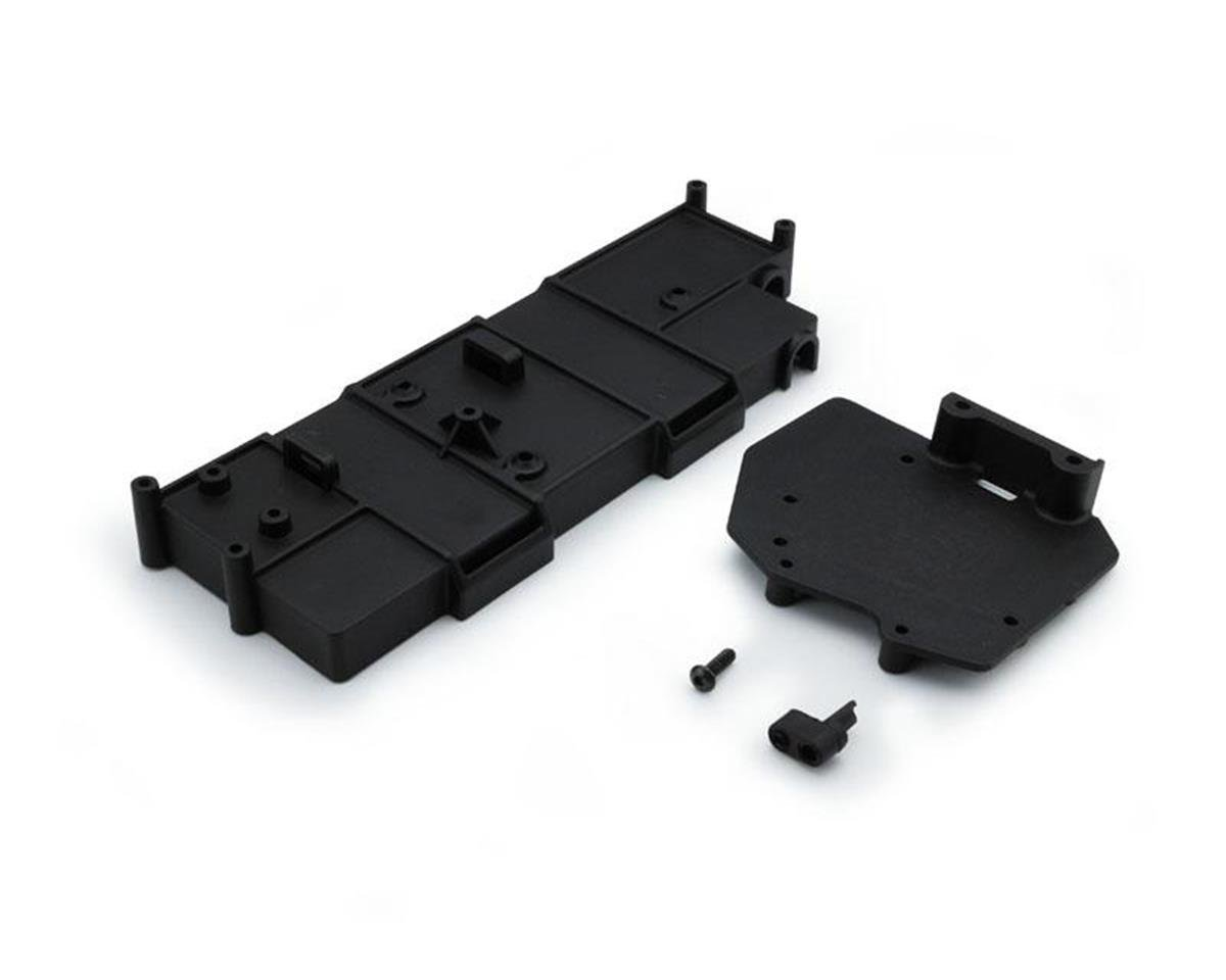 Carisma SCA-1E Battery Box with ESC Mount Plate