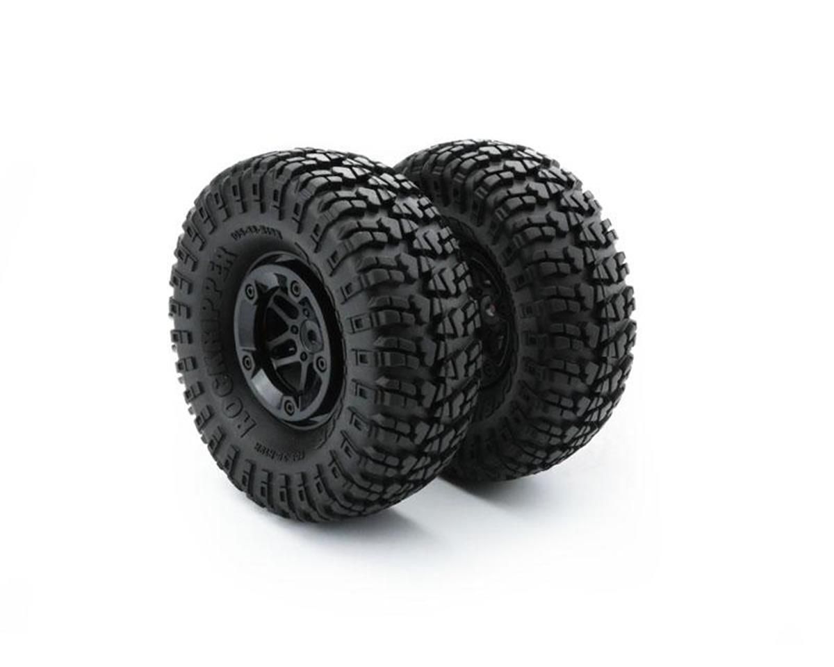 Carisma SCA-1E Tire & Wheel Set (2)