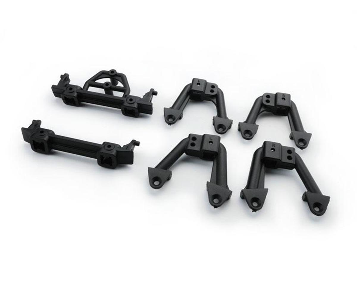 Carisma SCA-1E Front/Rear Bumper Mounts & Shock Hoops