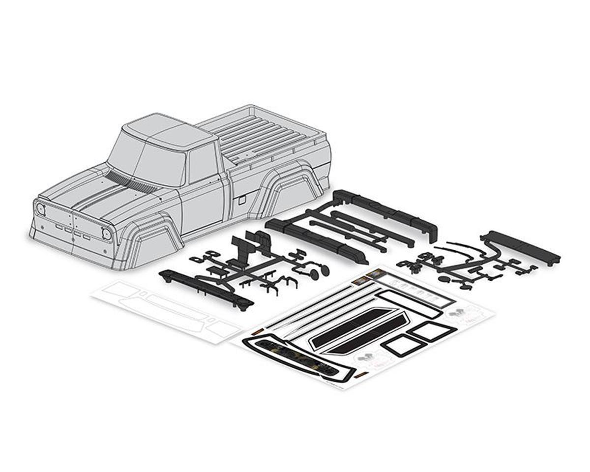 Carisma SCA-1E Coyote Clear Body Set