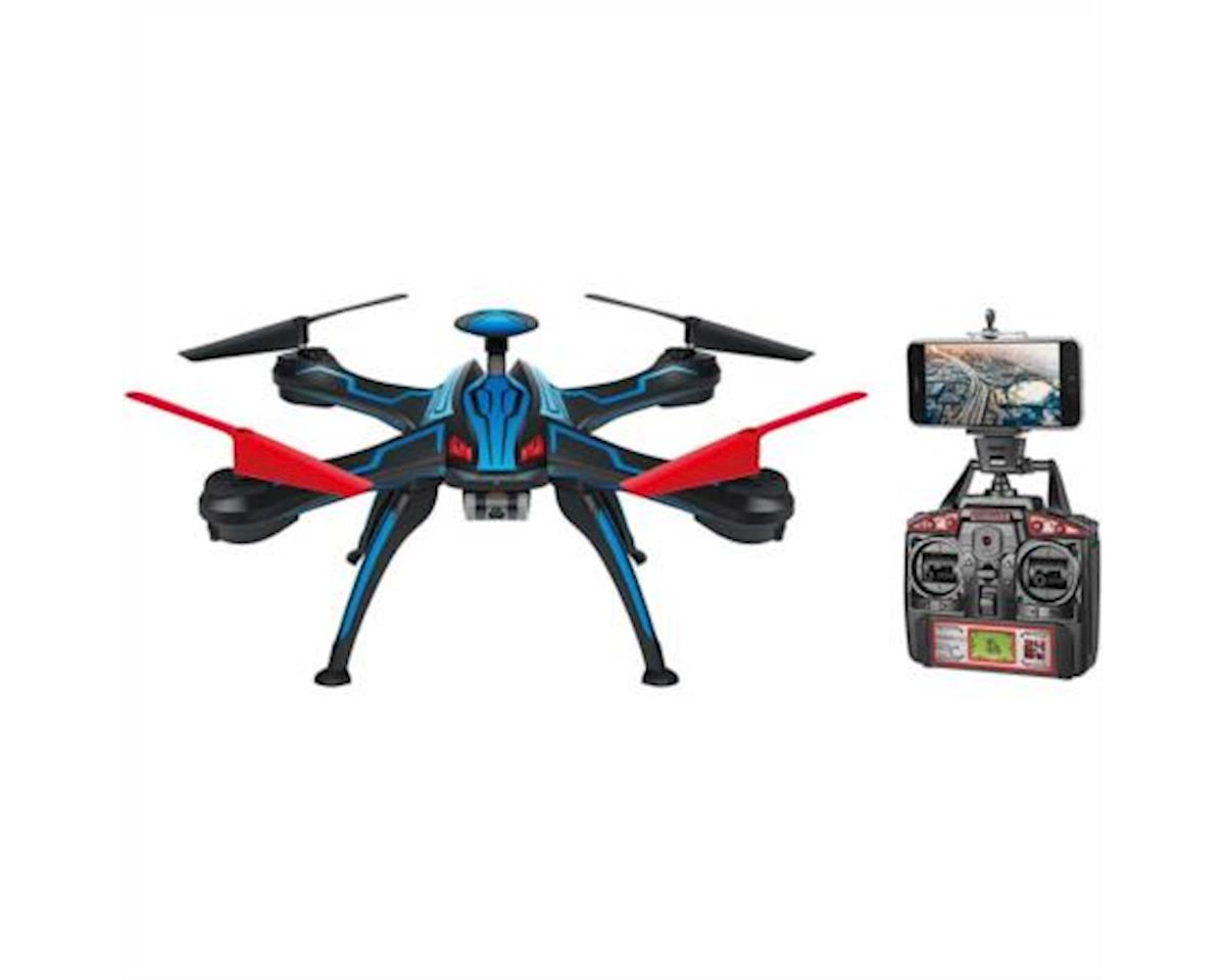 Carisma CIS Associates 176C1 World Tech Elite Venom Pro GPS Streaming 2.4GHz 4.5CH RC HD Camera Drone