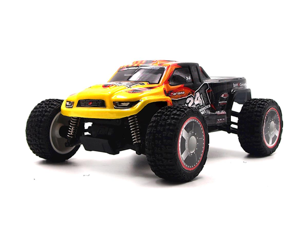 GT24MT 1/24 Scale Micro 4WD Monster Truck, RTR by Carisma
