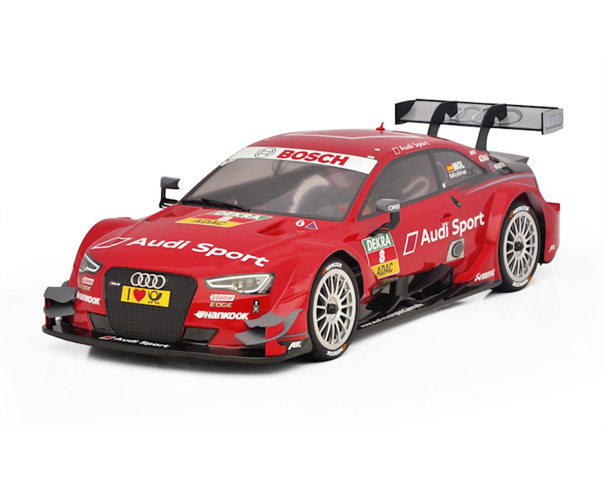 Carisma M40S 1/10 4WD Audi RS5 #8 Red DTM RTR