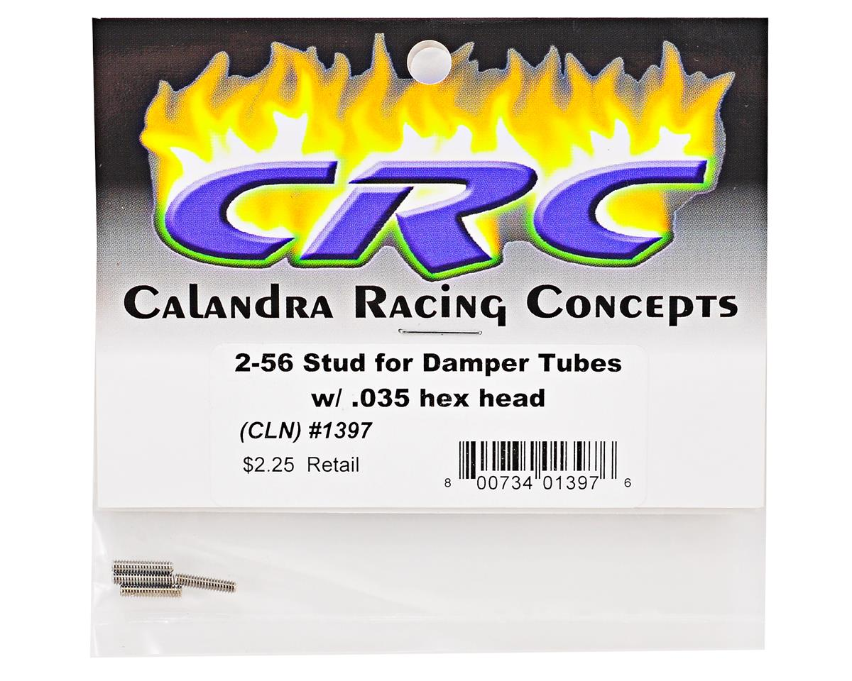Calandra Racing Concepts 2-56 Damper Tube Stud Set (4)