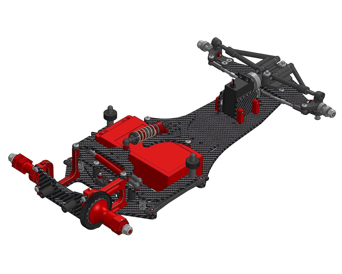 CRC WTF1-FC16 1/10 Competition F1 Chassis Kit