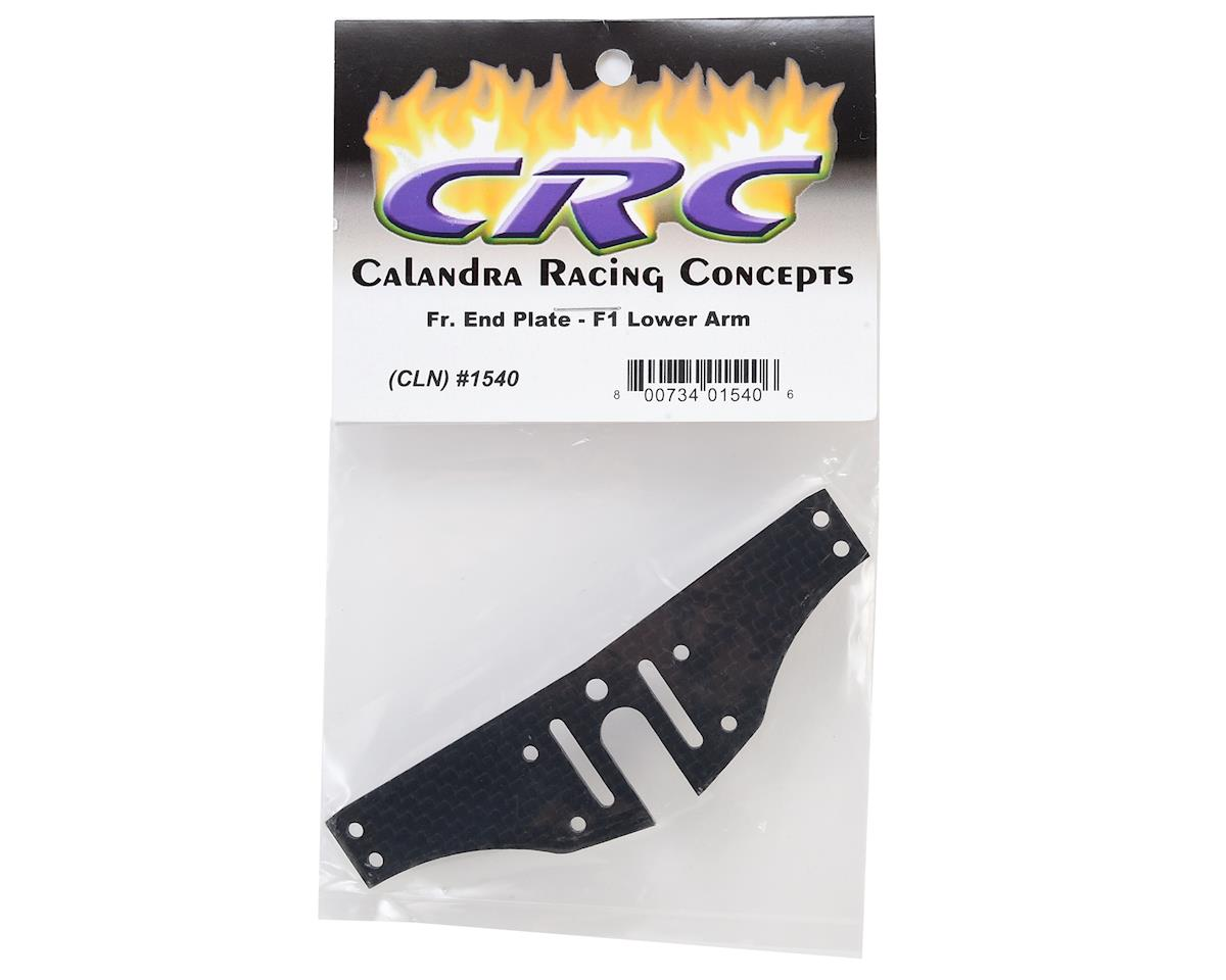CRC F1 Front Lower Arm End Plate