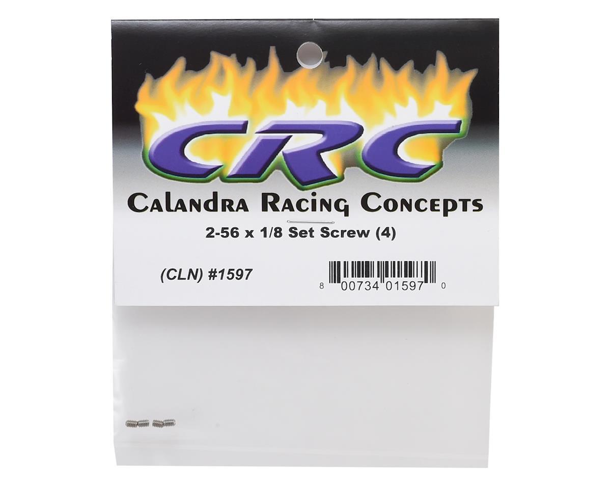 CRC 2-56 x 1/8 Set Screw (4)