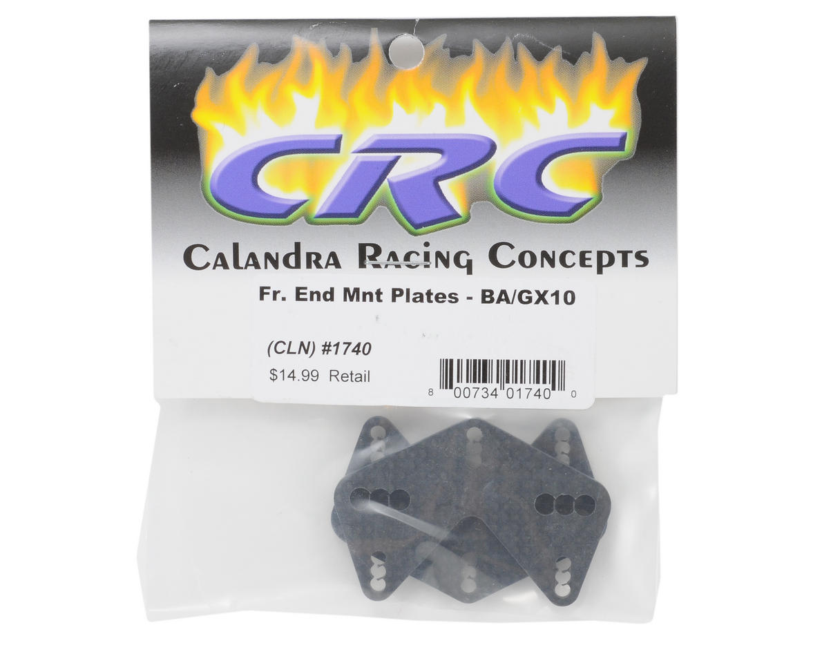 Calandra Racing Concepts Carbon Front End Mount Plate (2)
