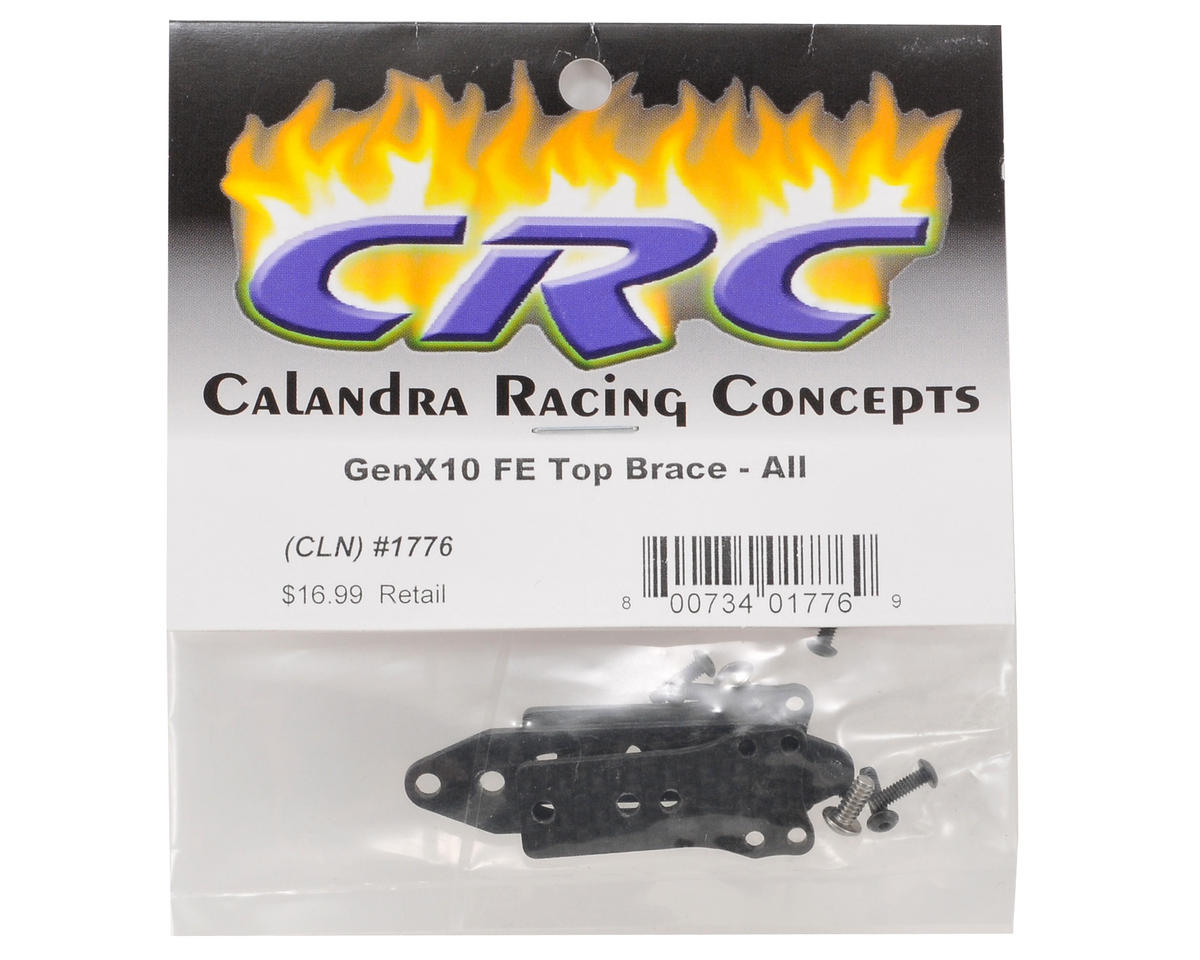 Calandra Racing Concepts Pro Strut 3-Piece Front End Multi-Brace Set