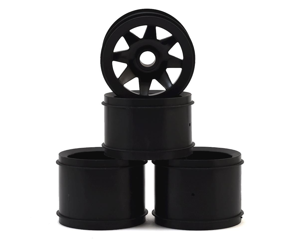 CRC GTR Rubber Tire Wheels (Black) (4)