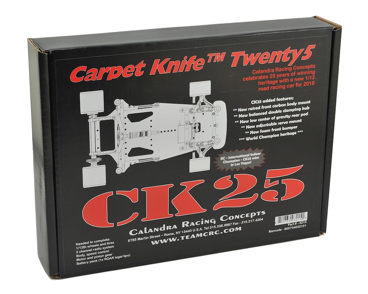 "CRC Twenty5 ""CK25"" Carpet Knife 1/12 Pan Car Kit"