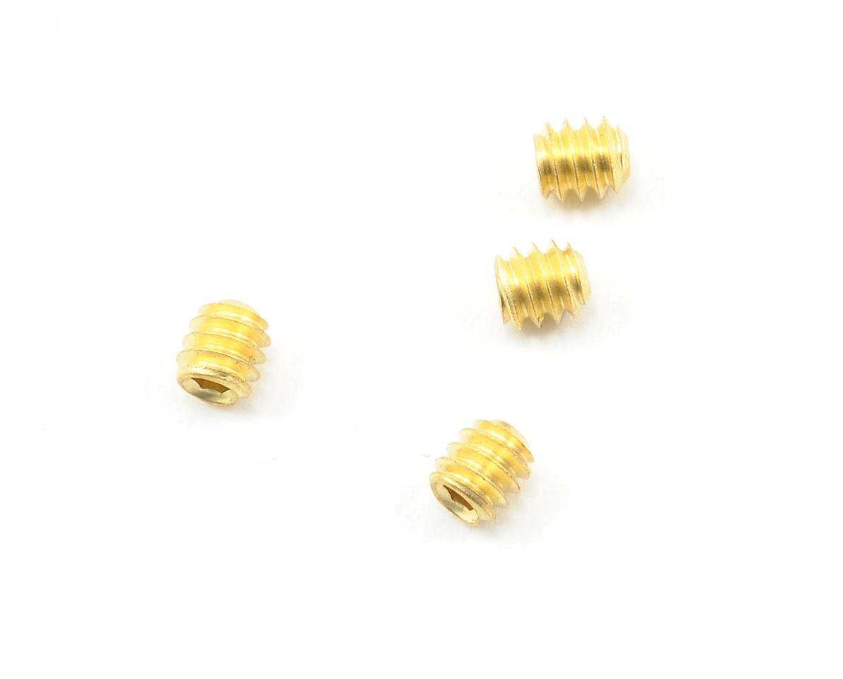 Brass 4-40 Set Screws (4) by CRC