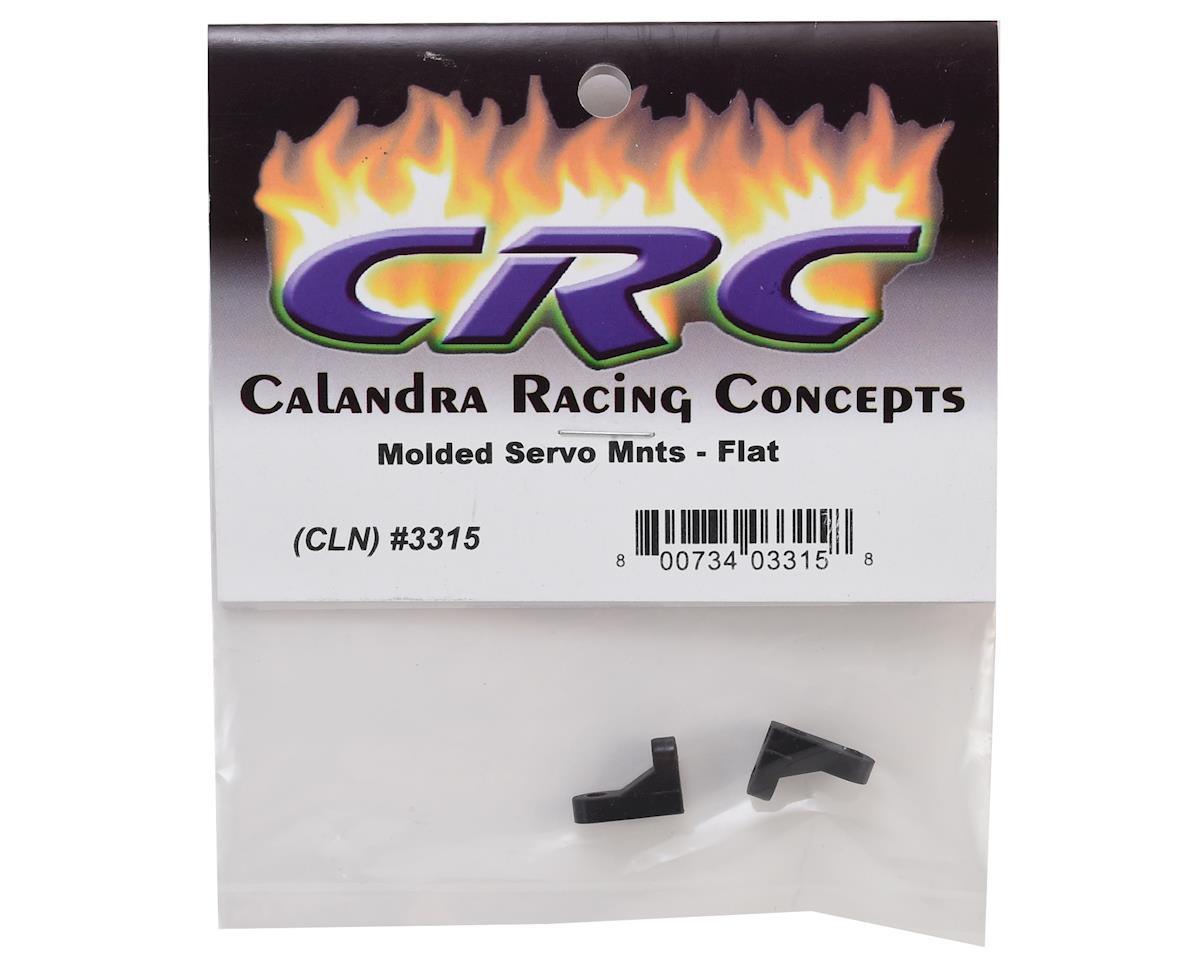 CRC Flat Molded Servo Mounts