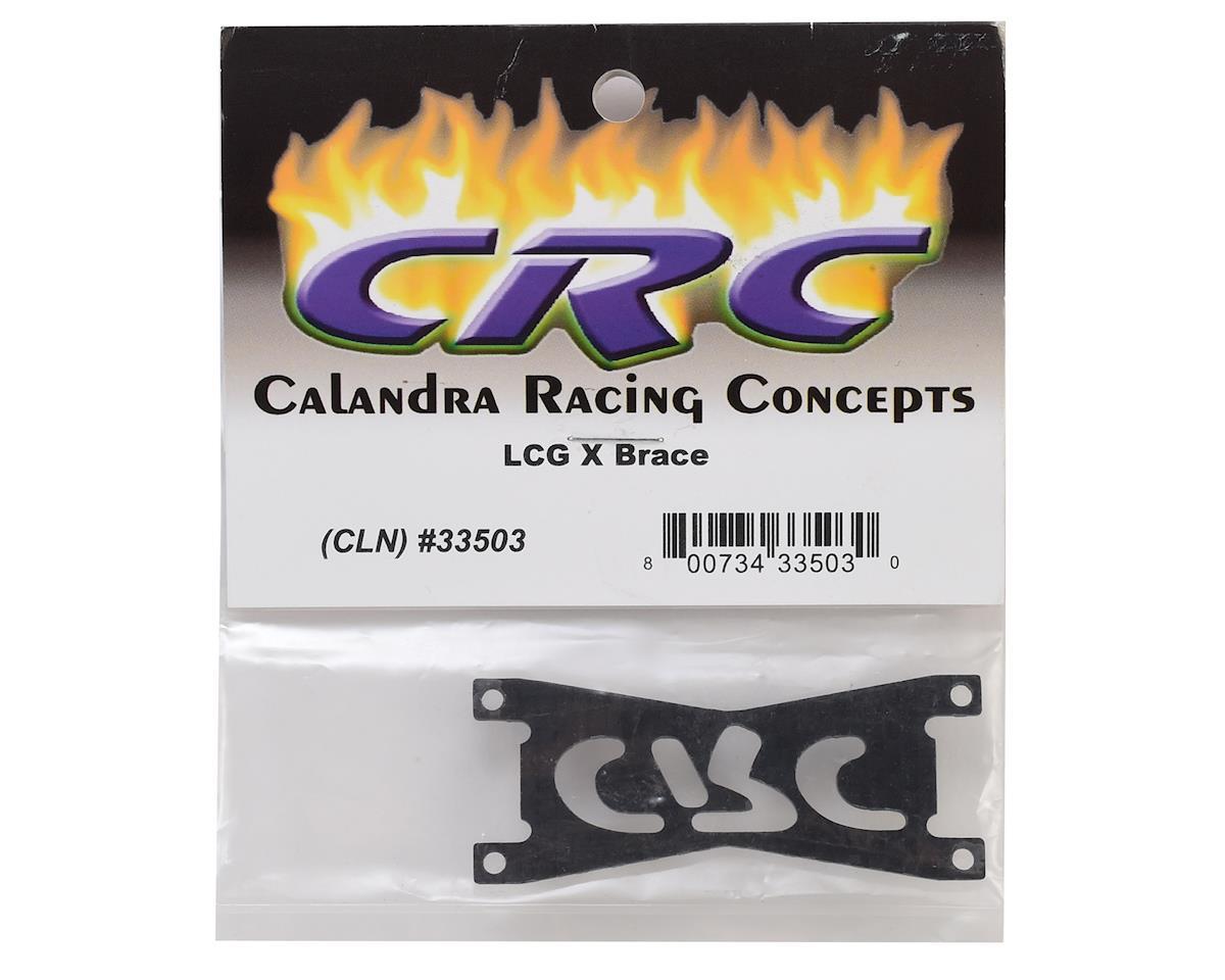 """CRC LCG Pod Carbon """"X"""" Brace"""