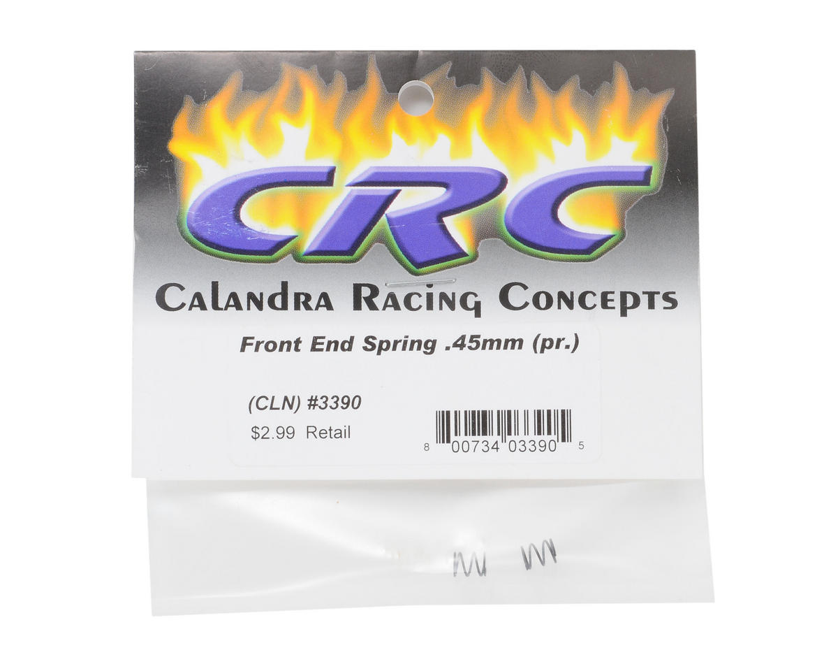 Calandra Racing Concepts Front End Spring (2) (0.45mm)