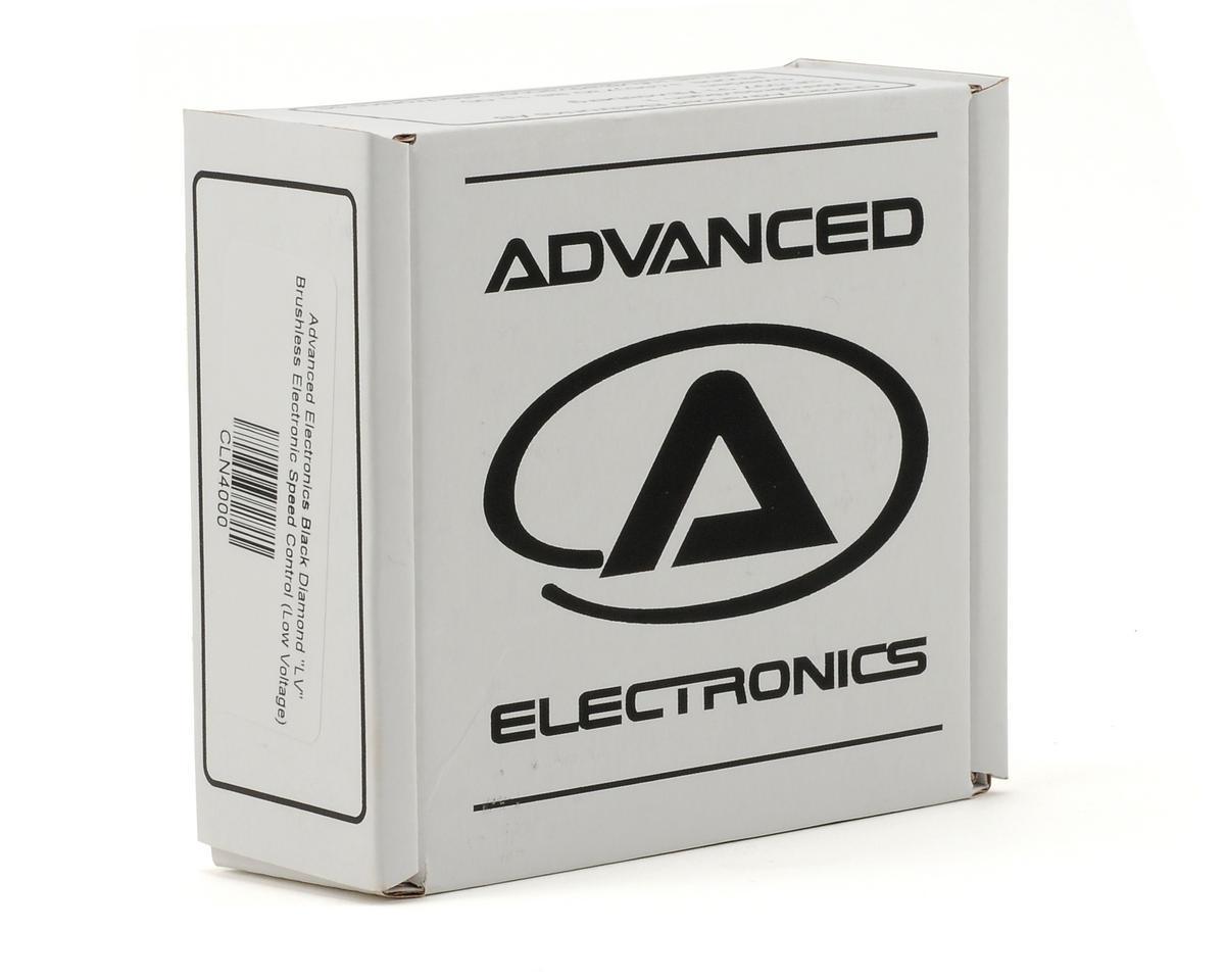 """CRC Advanced Electronics Black Diamond """"LV"""" V2 Brushless Electronic Speed C"""