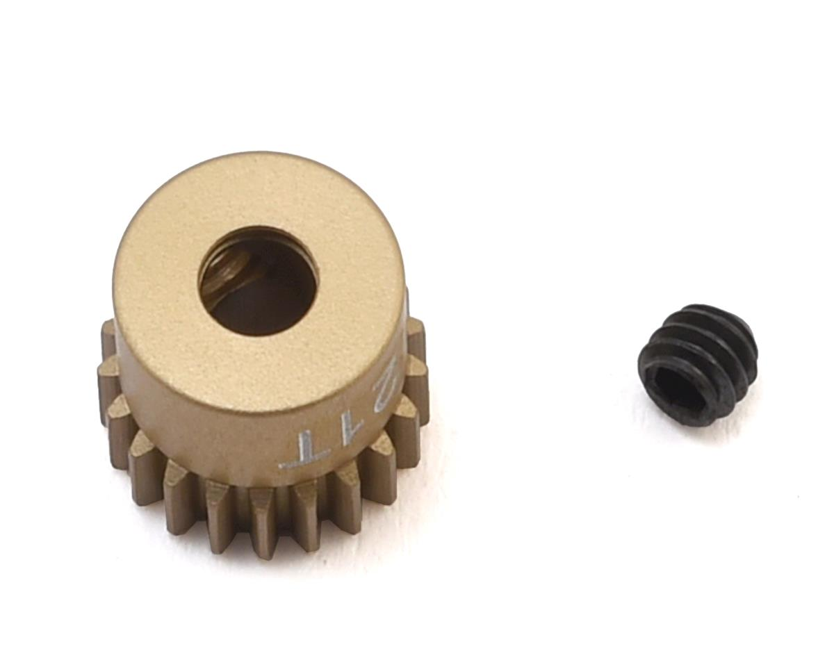 """Gold Standard"" 64P Aluminum Pinion Gear (21T) by CRC"
