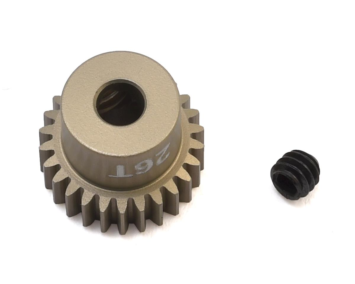 """""""Gold Standard"""" 64P Aluminum Pinion Gear (26T) by CRC"""
