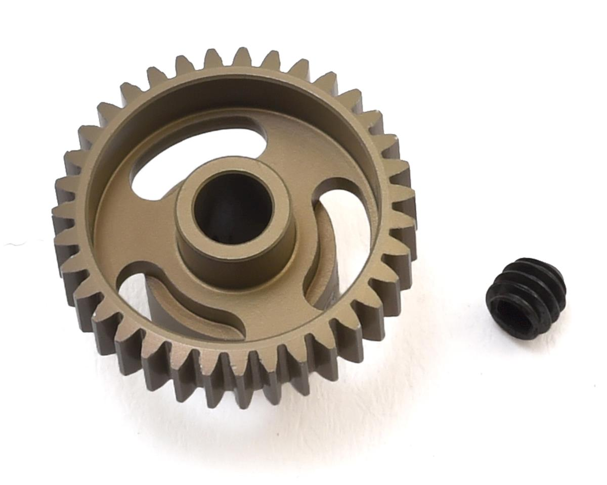 """Gold Standard"" 64P Aluminum Pinion Gear (35T) by CRC"