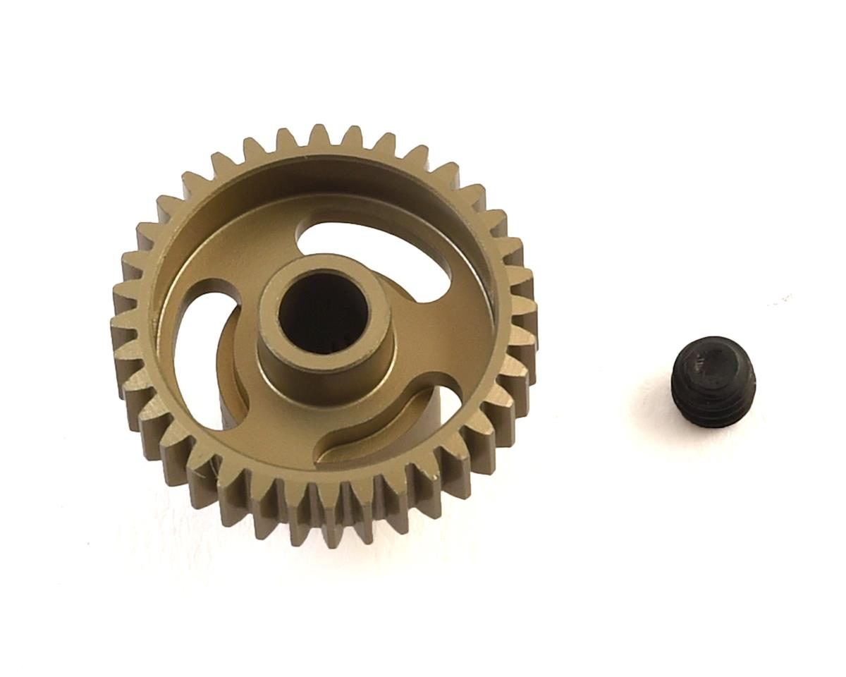 """Gold Standard"" 64P Aluminum Pinion Gear (36T) by CRC"