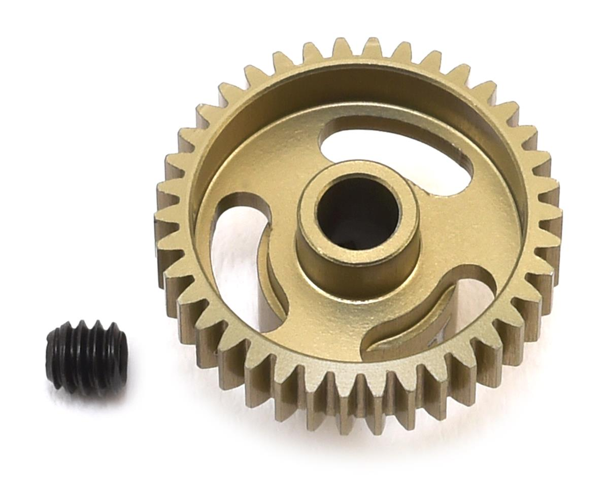 """Gold Standard"" 64P Aluminum Pinion Gear (38T) by CRC"
