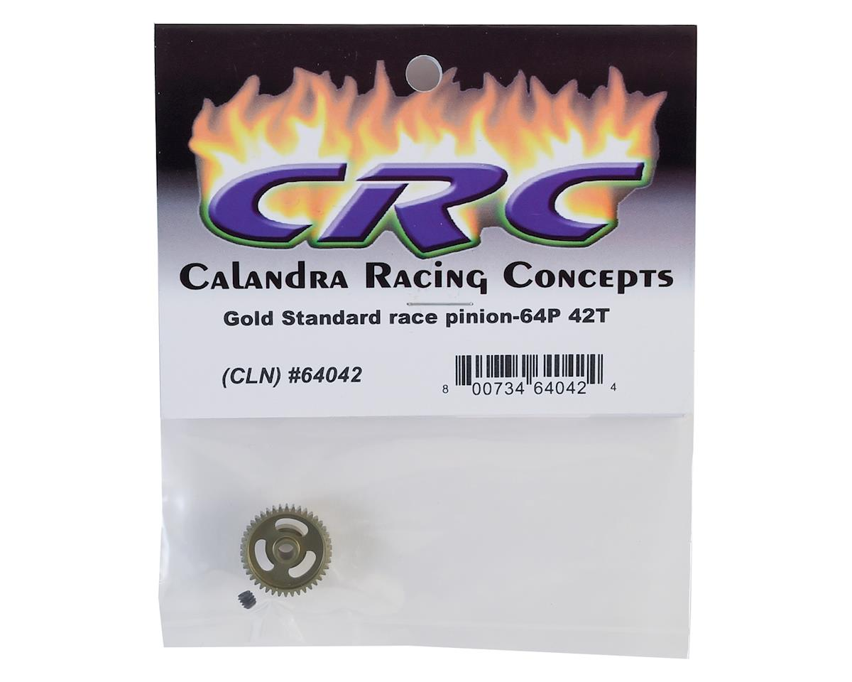 """Gold Standard"" 64P Aluminum Pinion Gear (42T) by CRC"