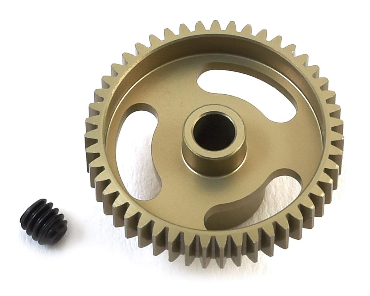 """Gold Standard"" 64P Aluminum Pinion Gear (47T) by CRC"
