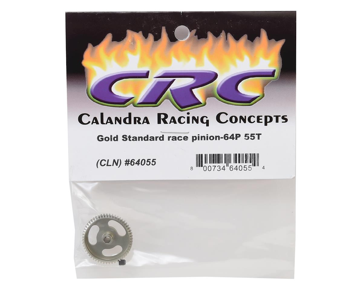 "CRC ""Gold Standard"" 64P Aluminum Pinion Gear (55T)"