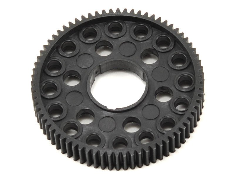 "Image 1 for CRC 64P ""16 Ball"" Pan Car Spur Gear (72T)"