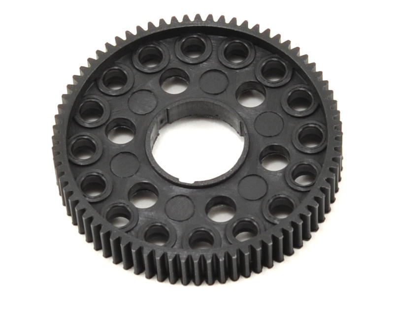 "64P ""16 Ball"" Pan Car Spur Gear (72T) by CRC"
