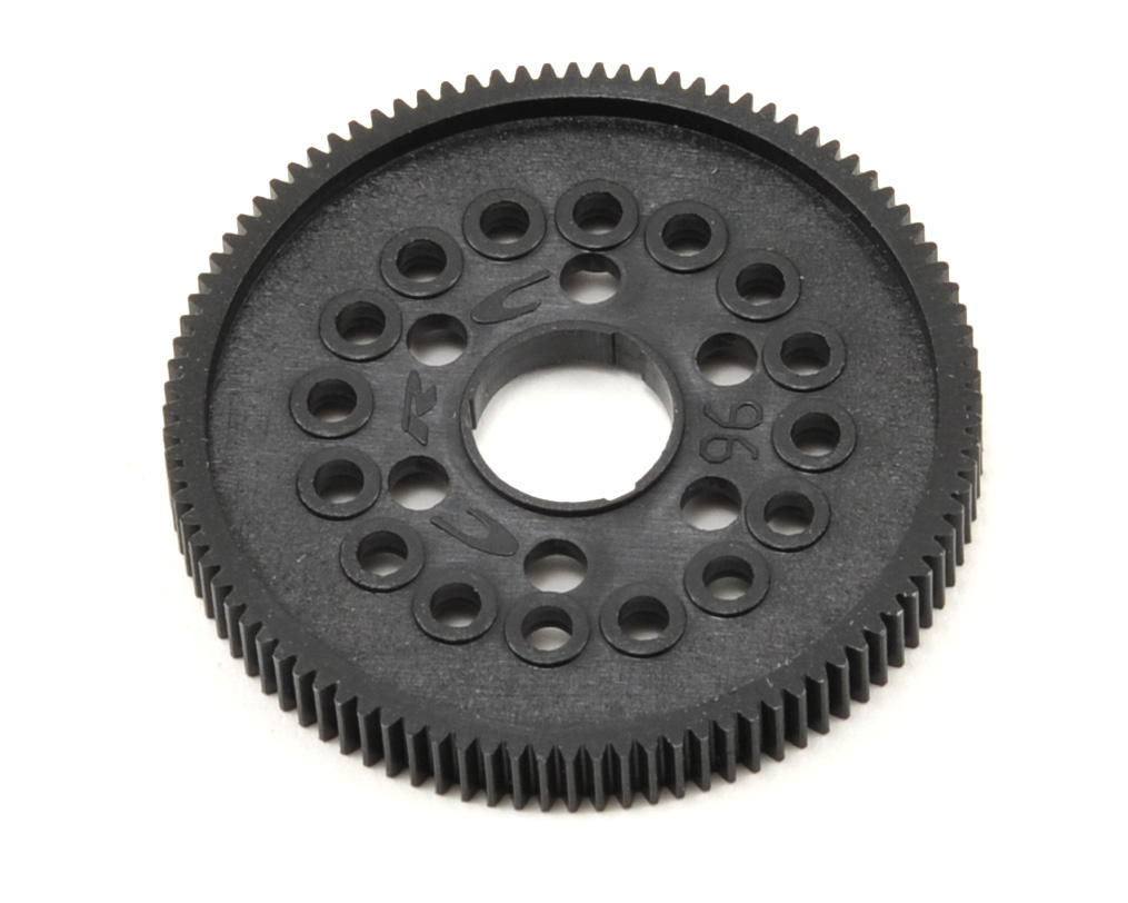 "64P ""16 Ball"" Pan Car Spur Gear (96T) by CRC"
