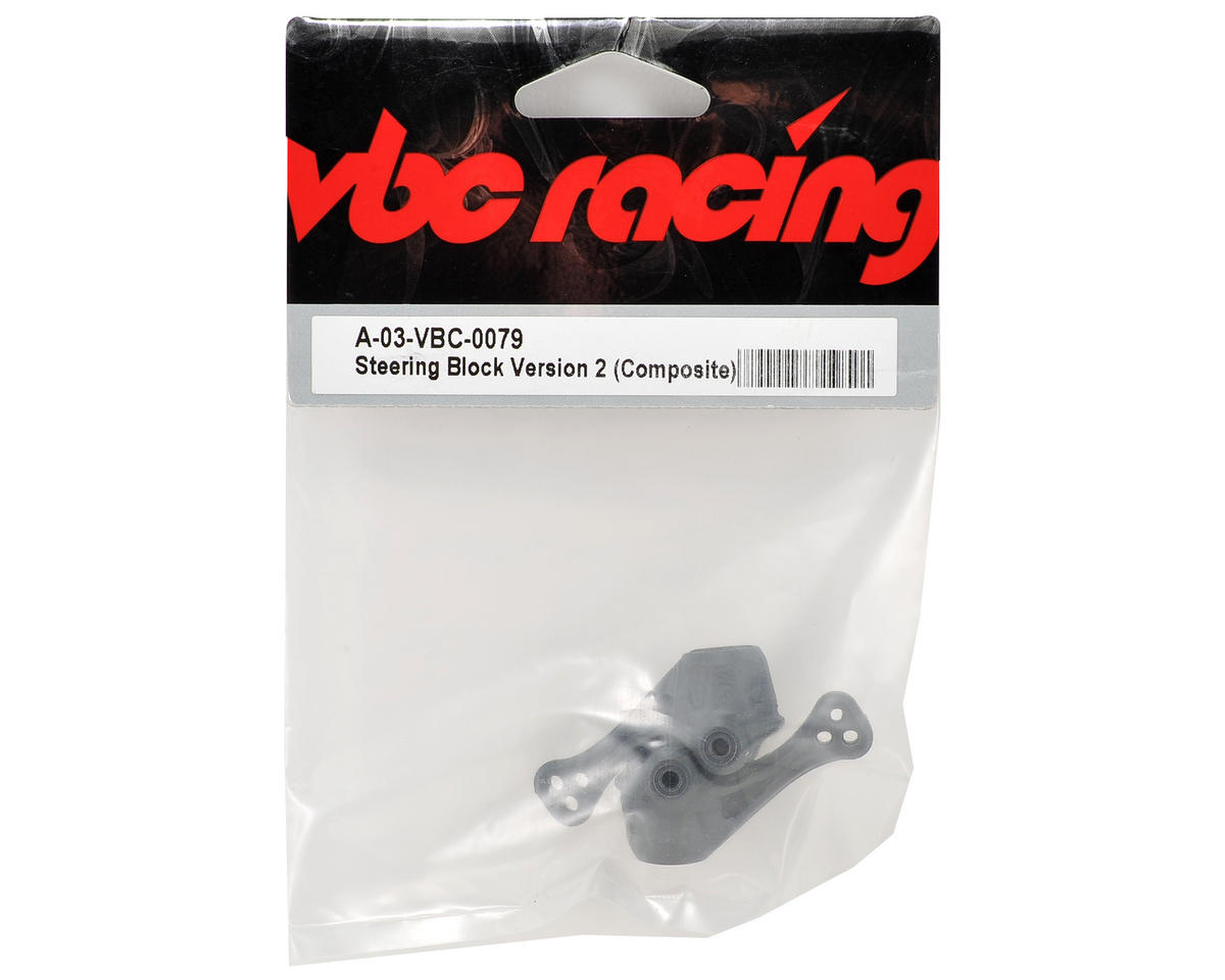 Calandra Racing Concepts VBC Racing V2 Composite Steering Block Set (2)
