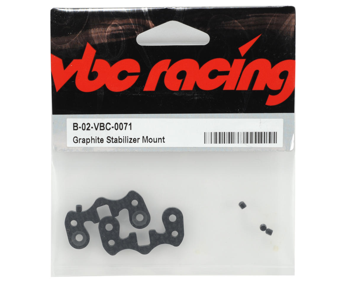 Calandra Racing Concepts VBC Racing Graphite Stabilizer Mount (2)