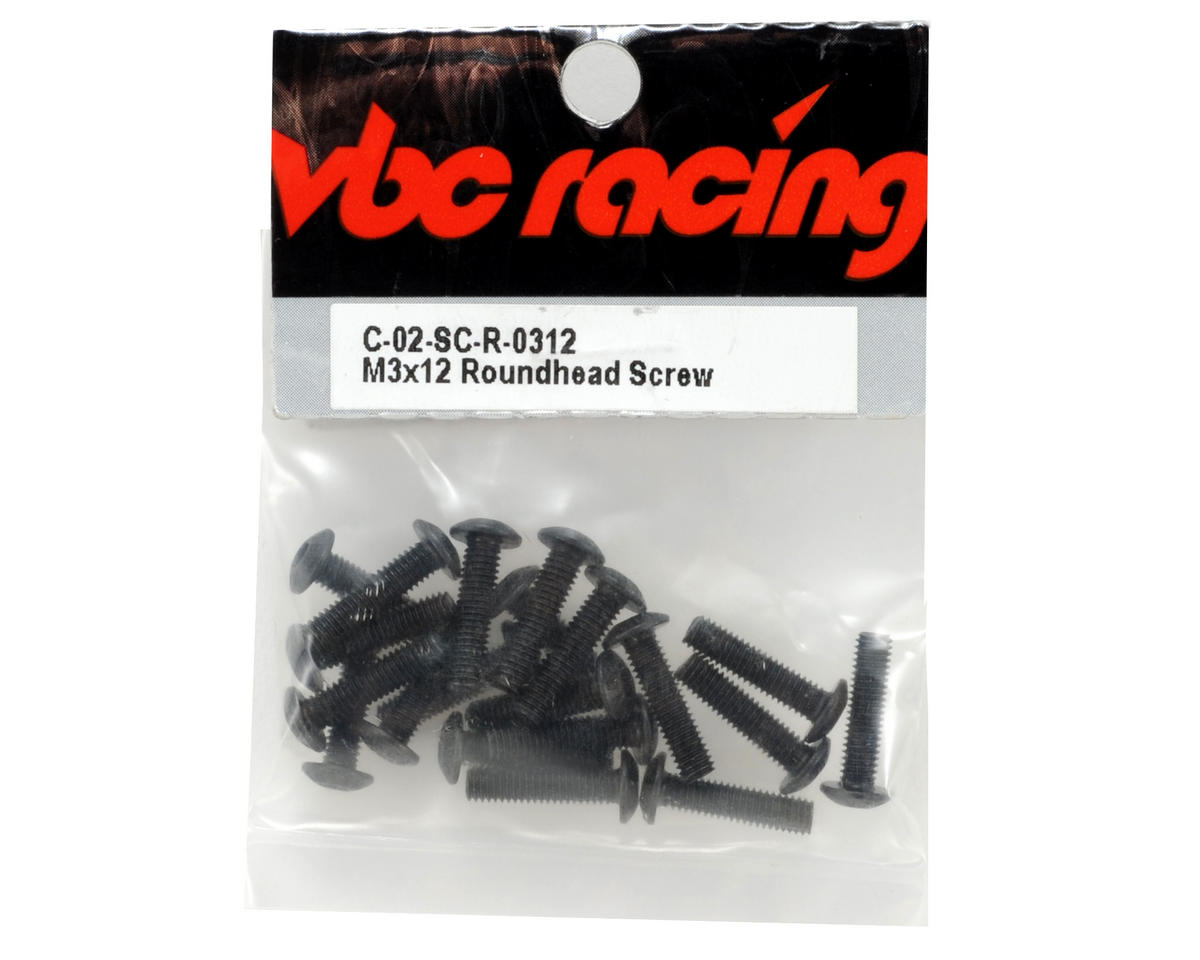 Calandra Racing Concepts VBC Racing 3x12mm Button Head Screw (20)