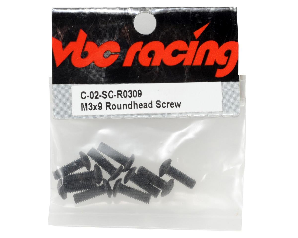 Calandra Racing Concepts VBC Racing 3x9mm Button Head Screw (10)