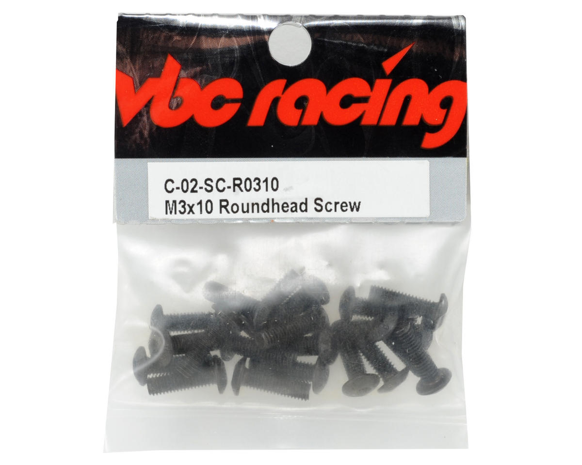 Calandra Racing Concepts VBC Racing 3x10mm Button Head Screw (20)