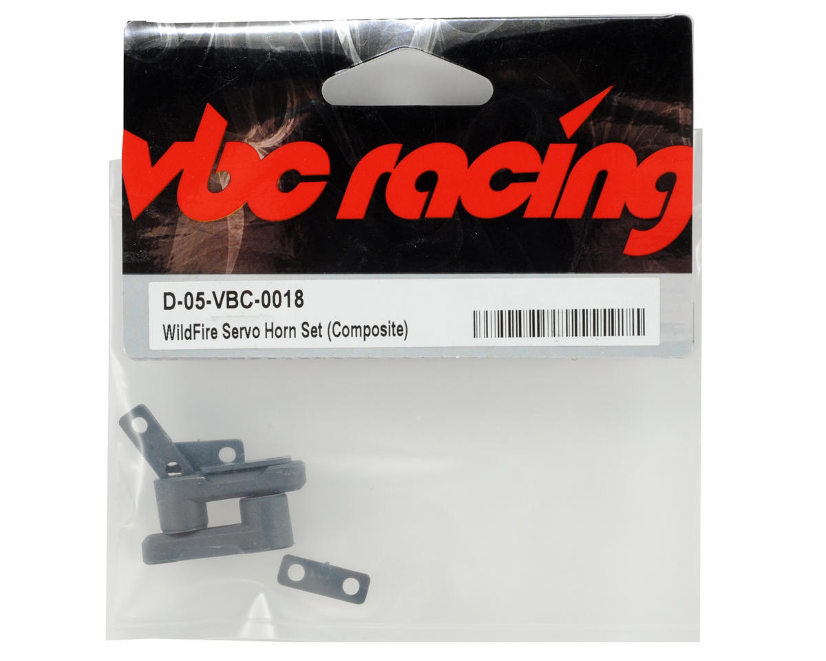 Calandra Racing Concepts VBC Racing Composite Servo Horn Set