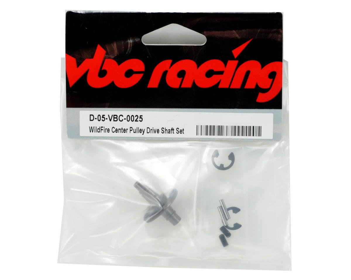 Calandra Racing Concepts VBC Racing Center Pulley Driveshaft Set